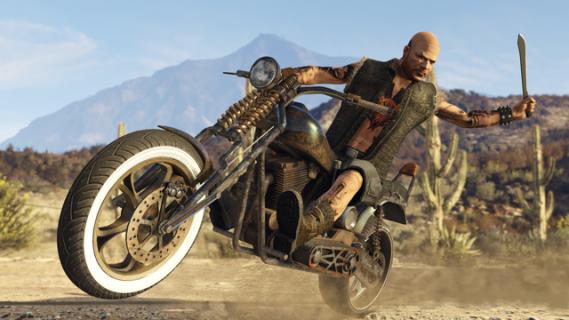Motocykliści w akcji. Zobacz gameplay z DLC Bikers do GTA Online