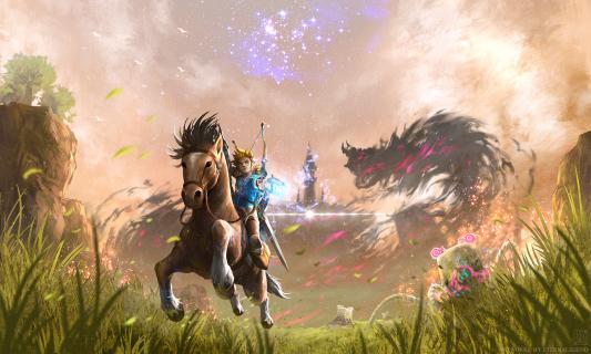 The Legend of Zelda: Breath of the Wild równocześnie z premierą konsoli. Nowy zwiastun gry