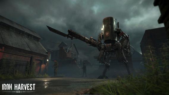 Jakub Różalski przedstawia główną bohaterkę gry Iron Harvest