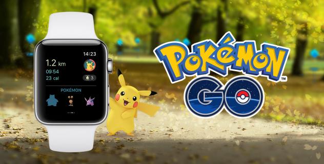 Pokemon GO jest już dostępne na Apple Watch