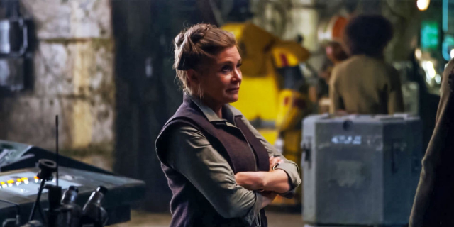 Carrie Fisher nakręciła wszystkie sceny do Epizodu VIII