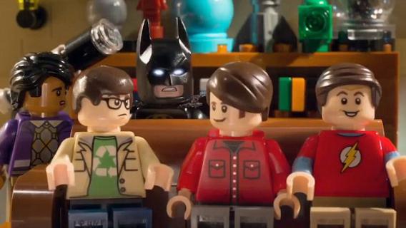 LEGO Batman łączy siły z Teorią wielkiego podrywu – zabawne wideo