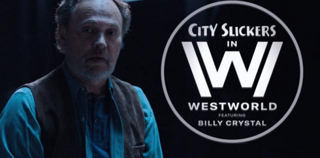 Humor: Billy Crystal parodiuje serial Westworld