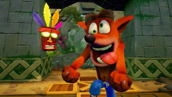Crash Bandicoot N. Sane Trilogy z przyspieszoną premierą