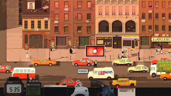 Beat Cop w marcu trafi na konsole. Nowy zwiastun gry