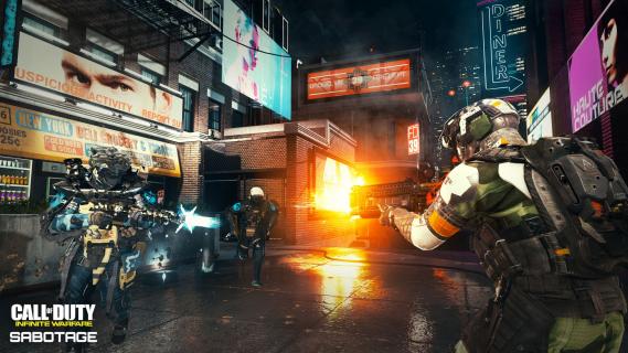Call of Duty: Infinite Warfare. Dodatek Sabotage debiutuje na PC i Xboksie One