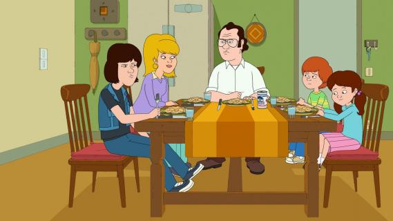 Vince Vaughn w obsadzie głosowej serialu Nie ma jak w rodzinie. Zobacz klip