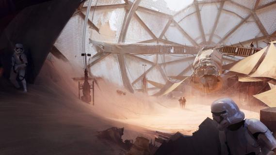 Piotr Adamczyk jako Bossk w grze Star Wars Battlefront 2