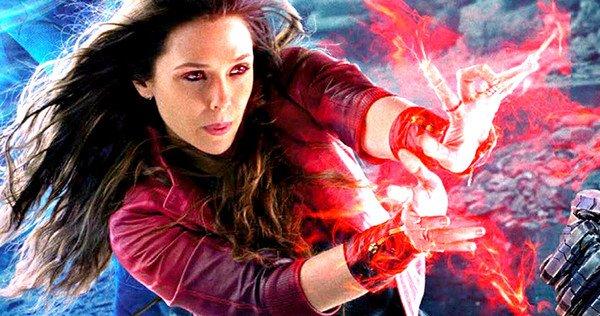 Scarlet Witch w akcji – zobacz wideo z planu Avengers: Infinity War