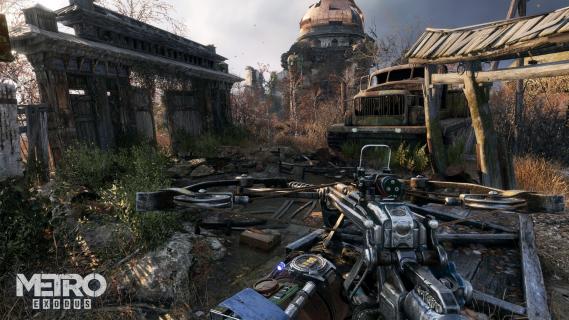 Nvidia pokazuje moc Metro: Exodus. Nowy zwiastun gry