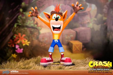 Crash Bandicoot jako świetna figurka. Zobaczcie zdjęcia