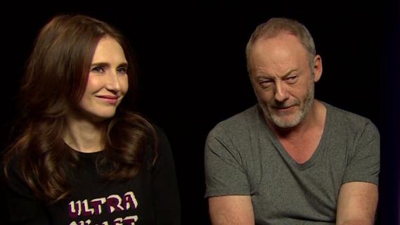 Carice van Houten i Liam Cunningham o serialu Gra o tron. Obejrzyj wywiad z aktorami
