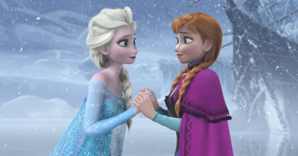 Aktorki z Broadwayu jako Elsa i Anna. Pierwsze zdjęcie z musicalu Frozen