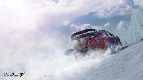 WRC 7 – przejażdżka po szwedzkiej trasie