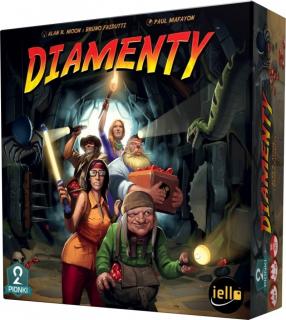 Diamenty – recenzja gry planszowej