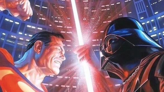Superman i Darth Vader w jednym komiksie? To naprawdę miało się zdarzyć