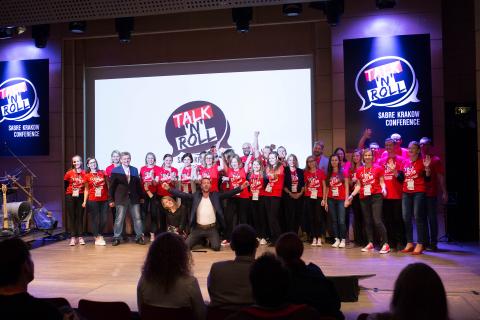 Talk'n'Roll Sabre Conference Kraków 2017 – O geekach, technologii i współczesnym społeczeństwie
