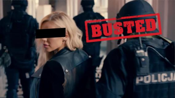 Dorota R. w rękach policji. W sprawę zamieszany jest producent Pitbulla