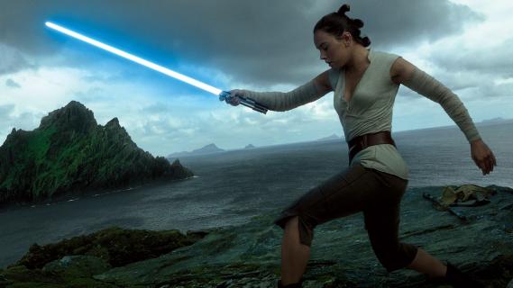 Czy Rey z Gwiezdnych Wojen ma słabe strony? Daisy Ridley twierdzi, że nie