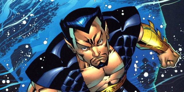 Keanu Reeves jako Namor w MCU? Szkic koncepcyjny
