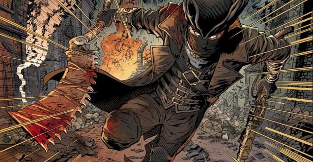 Zobacz plansze z komiksu Bloodborne z rysunkami Polaka