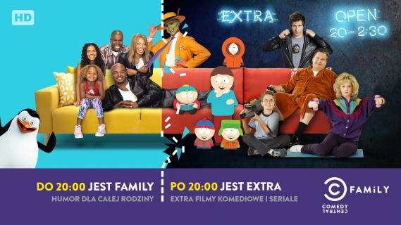 Comedy Central Family z nowymi pasmem programowym
