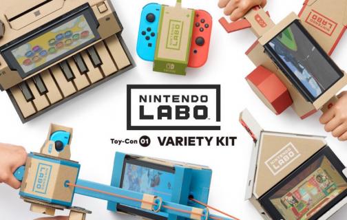 Polskie ceny Nintendo Switch Labo nie są najniższe