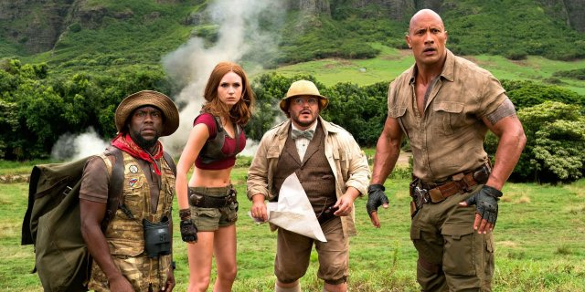 Box Office: Jumanji 2 niepokonane. Nowości nie dały rady