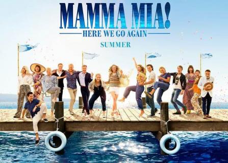 Nowe sceny z Mamma Mia! Here We Go Again. Spot z Grammy 2018