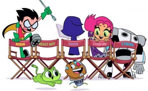 Młodzi Tytani parodiują Ligę Sprawiedliwości. Nowy plakat Teen Titans GO! to the Movies
