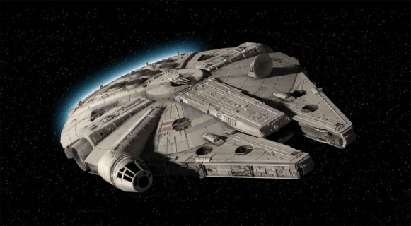 A gdyby tak rozbić Sokoła Millenium? Świetna atrakcja parku Star Wars: Galaxy's Edge
