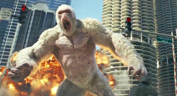 Czy Rampage: Dzika Furia to dobry film? Recenzenci nie są przekonani