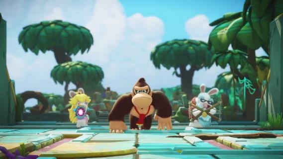Donkey Kong i Kórliki w akcji! Zwiastun dodatku do Mario + Rabbids Kingdom Battle