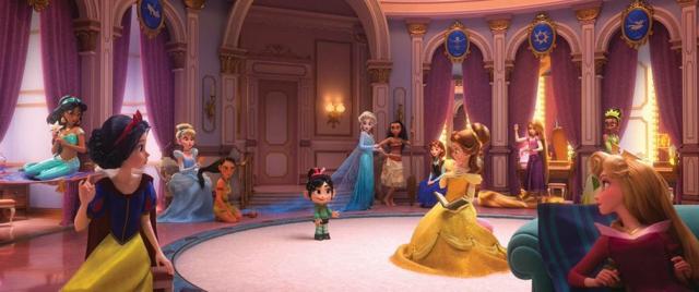 Księżniczki Disneya w filmie Ralph Demolka 2. Zobacz zdjęcia