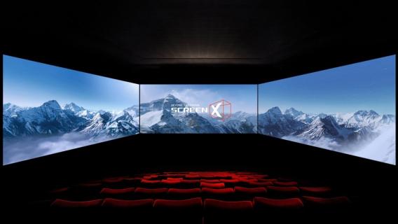 Testujemy salę ScreenX
