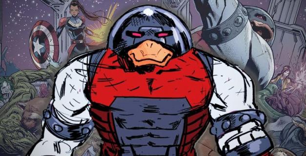 Kaczka-dziwaczka na modłę Marvela. Takiego Juggernauta w komiksie nie było