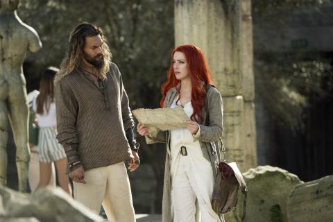 Aquaman i Mera – zobacz nowe zdjęcia zza kulis filmu