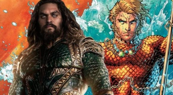 Aquaman w ikonicznym stroju. Wyciekły nowe grafiki promocyjne