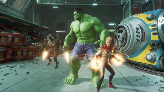 Poczuj się jak heros Marvela. Oto premierowy zwiastun gry Marvel Powers United
