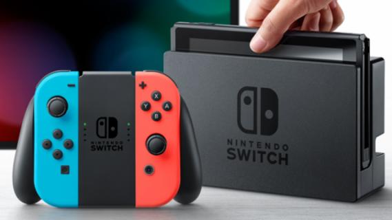 Nintendo Switch to najszybciej sprzedająca się konsola 8. generacji