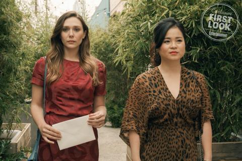 Elizabeth Olsen i Kelly Marie Tran w serialu. Zdjęcia z Sorry For Your Loss