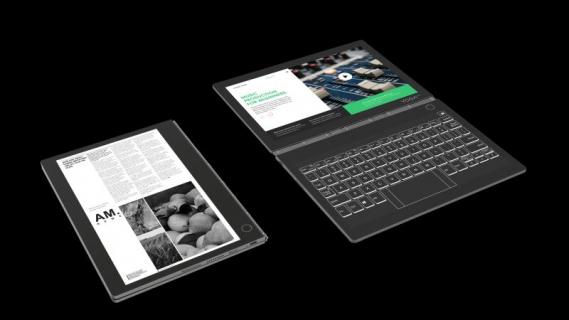 Hybryda od Lenovo to laptop, tablet graficzny i czytnik e-booków w jednym