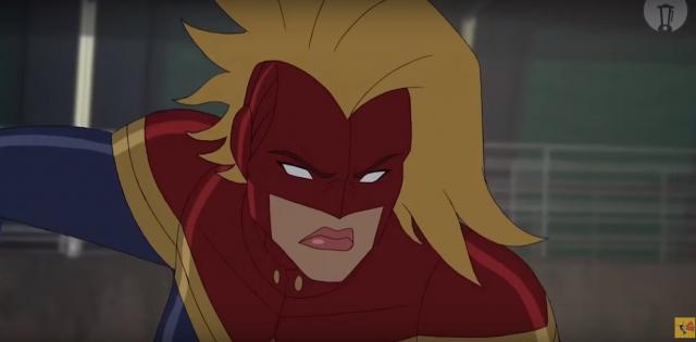 Captain Marvel w wersji animowanej. Przeróbka zwiastuna