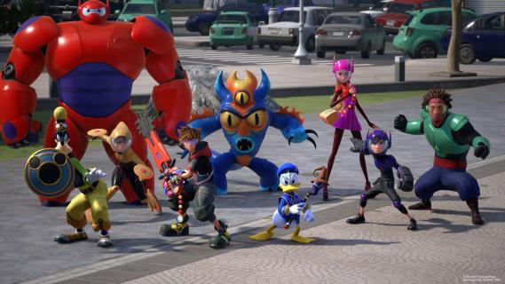 Kingdom Hearts III – zwiastun z TGS 2018 przedstawia świat z Wielkiej Szóstki