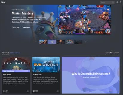 Discord uruchamia sklep i promuje subskrypcję gier