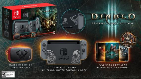 Diablo III: Zobacz limitowaną edycję konsoli Nintendo Switch