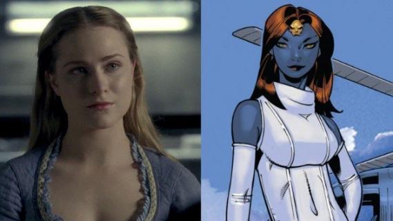 Evan Rachel Wood z Westworld jako Mystique? Zobacz fanowskie zdjęcie