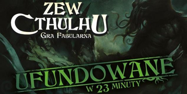 Ponad milion złotych dla Zew Cthulhu RPG – gra fabularna