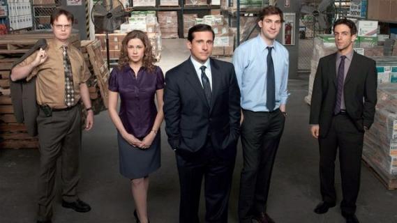 Pamiętacie amerykańskie Biuro? Aktorzy spotkali się po latach – zdjęcie
