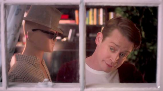 Kevin sam w domu po latach. Macaulay Culkin w reklamie Google